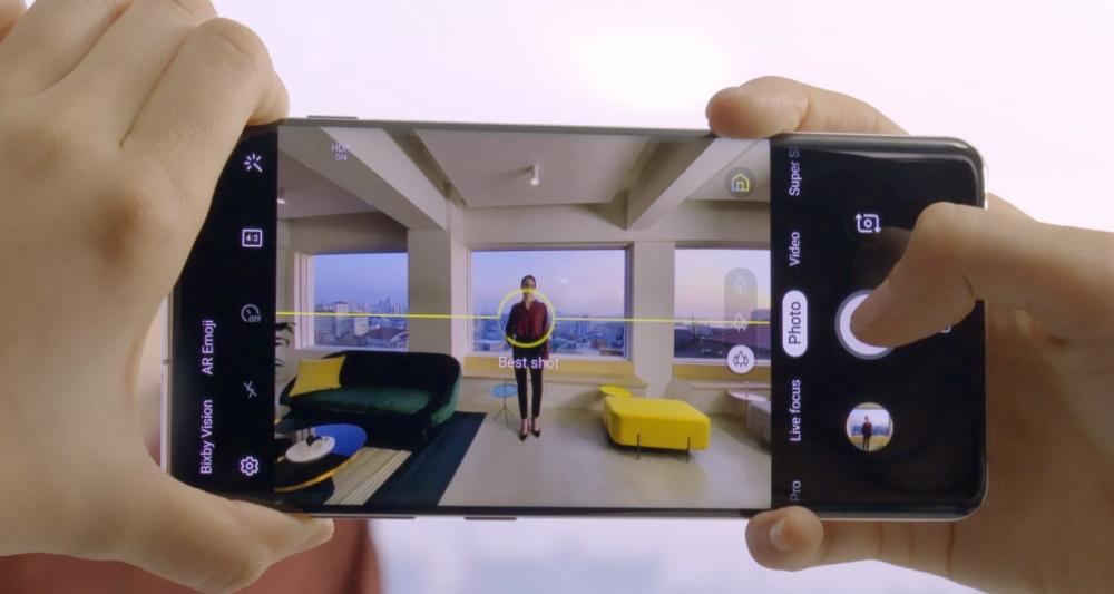Sim-stunt.nl Samsung Galaxy S10 Review AI optimizer
